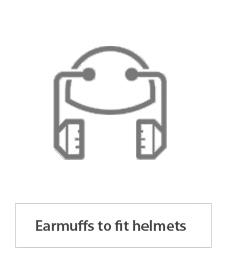 Earmuffs to fit helmets