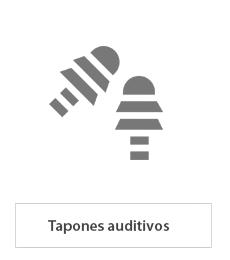 Tapones auditivos