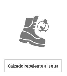 calzado impermeable