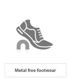 footwear metalfree