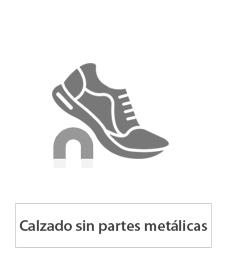 calzado de seguridad sin partes metálicas