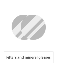 filters and mineral glasses for welding