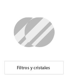 filtros y cristales de soldadura