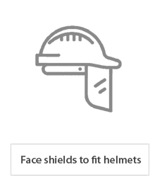 face shields to fit helmets