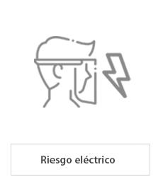 pantallas faciales para riesgo eléctrico