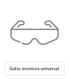 Gafas de montura universal