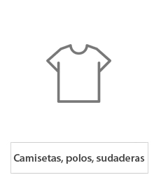 Camisetas, polos y sudaderas